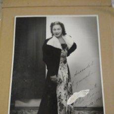Autógrafos de Música : FOTOGRAFÍA ORIGINAL CON AUTÓGRAFO DE ELSIE BYRON. LA VENUS DE ÉBANO.. Lote 218669130