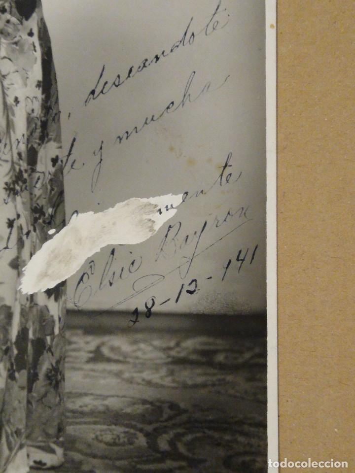 Autógrafos de Música : Fotografía original con autógrafo de Elsie Byron. La Venus de ébano. - Foto 2 - 218669130