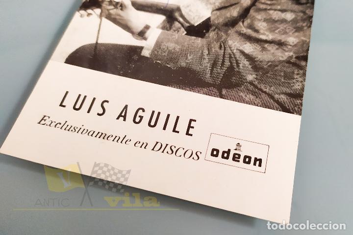 Autógrafos de Música : Autógrafo - Luis Aguilé - Discos Odeon - Foto 4 - 218723928