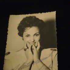 Autógrafos de Música : CARMEN SEVILLA FOTO AUTÓGRAFA ORIGINAL. Lote 220791897