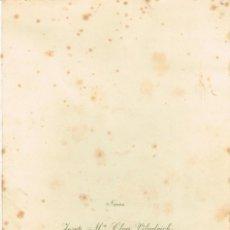 Autógrafos de Música : 1957 MENÚ DE BODAS JOSEP Mª CLUA - Mª MONTSERRAT CABECERAN AUTÓGRAFO ORIGINAL: MARCOS REDONDO. Lote 220951340