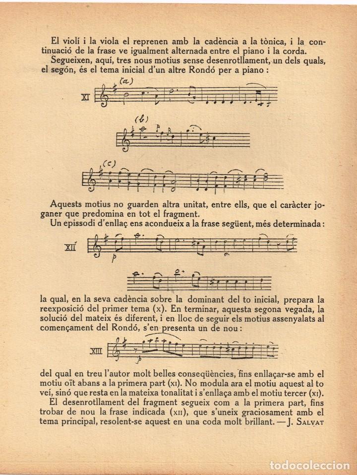 """Autógrafos de Música : 1921 1922 Associació de Música """"Da Camera"""" QUINTET ROSÉ de Viena - Imp. Oliva de Vilanova - Foto 5 - 222613916"""