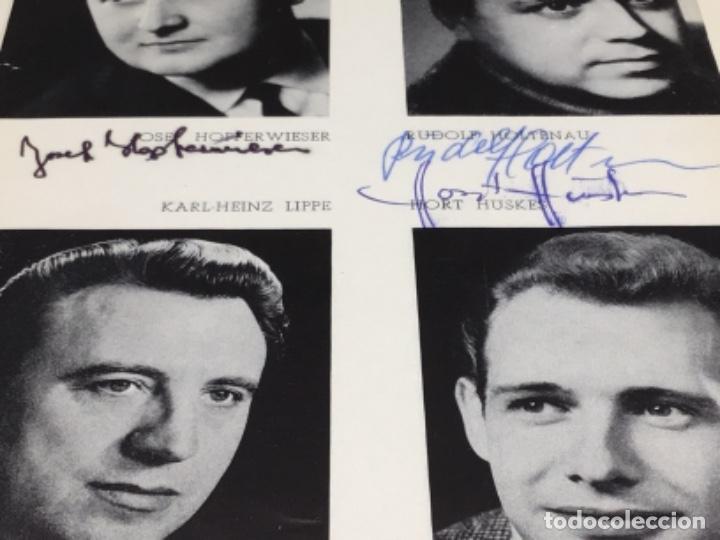 Autógrafos de Música : AUTOGRAFOS CANTANTES DE OPERA-EL BARON GITANO AÑO 1969-JOSEF HOPTER WIESER-RUDOLF HOLTENAU-HORT HUSK - Foto 4 - 222904230