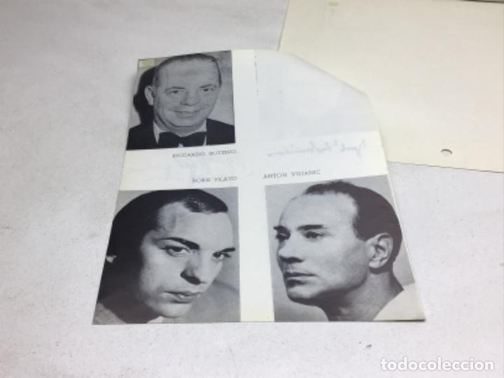 Autógrafos de Música : AUTOGRAFOS CANTANTES DE OPERA-EL BARON GITANO AÑO 1969-JOSEF HOPTER WIESER-RUDOLF HOLTENAU-HORT HUSK - Foto 5 - 222904230