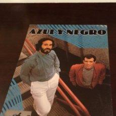Autografi di Musica : AUTÓGRAFO GRUPO MUSICAL AZUL Y NEGRO AÑOS 90. Lote 227458545