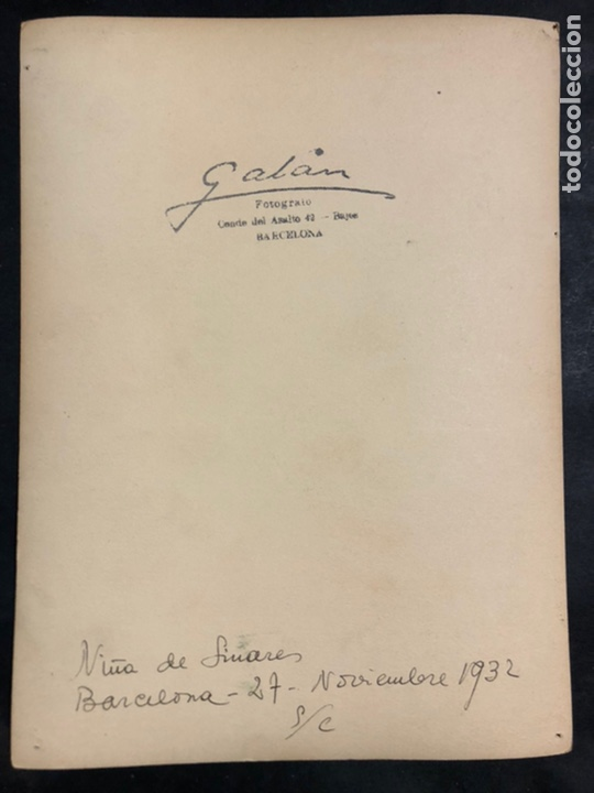 Autógrafos de Música : Foto con autógrafo y dedicatoria de La Niña de Linares.Petra García Espinosa.cantaora de flamenco - Foto 2 - 231555300