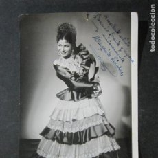Autógrafos de Música : MARGARITA SANCHEZ-AUTOGRAFO-FOTOGRAFIA ANTIGUA FIRMADA-VER FOTOS-(K-1501). Lote 232514380