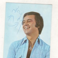 Autografi di Musica : POSTAL CON AUTOGRAFO O FIRMA DEL CANTANTE PAOLO SALVATORE. Lote 233697325