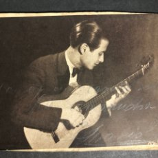 Autógrafos de Música : FOTO CON AUTÓGRAFO DE EL GUITARRISTA MARIO ESCUDERO.FOTO MENDOZA 10 X 14,5 CM. Lote 234379585