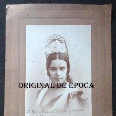 Autógrafos de Música : (JX-210110)FOTOGRAFIA DEDICADA Y FIRMADA DE LA BAILAORA DE FLAMENCO LAURA DE SANTELMO (1897-1977). Lote 234890940