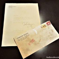 Autografi di Musica : AUTOGRAFO JOHN LENNON THE BEATLES + CERTIFICADO DE AUTENTICIDAD POLYDOR TONY SHERIDAN LP CD LOTE BOX. Lote 234906750