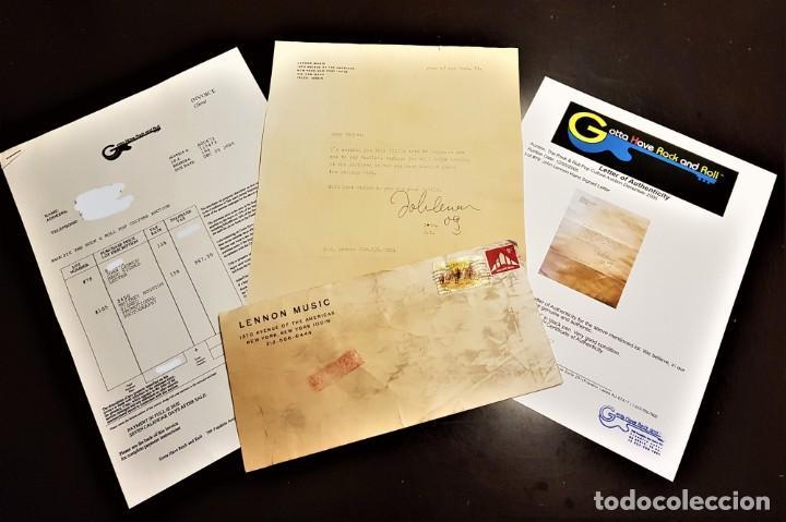 Autógrafos de Música : AUTOGRAFO JOHN LENNON THE BEATLES + CERTIFICADO DE AUTENTICIDAD polydor tony sheridan lp cd lote box - Foto 2 - 234906750