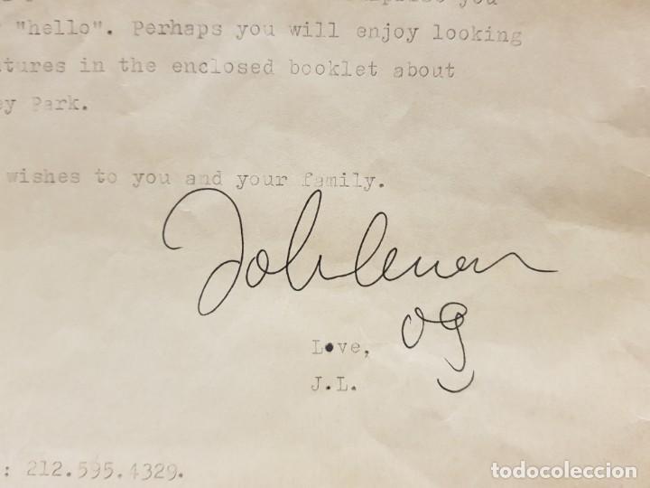 Autógrafos de Música : AUTOGRAFO JOHN LENNON THE BEATLES + CERTIFICADO DE AUTENTICIDAD polydor tony sheridan lp cd lote box - Foto 7 - 234906750