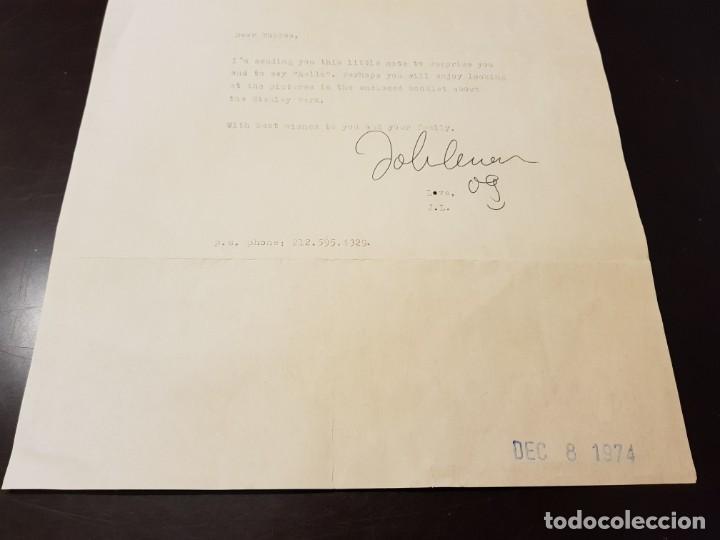Autógrafos de Música : AUTOGRAFO JOHN LENNON THE BEATLES + CERTIFICADO DE AUTENTICIDAD polydor tony sheridan lp cd lote box - Foto 9 - 234906750