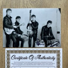 Autografi di Musica : FOTO THE BEATLES, FIRMADA ORIGINAL POR PETE BEST EL BATERÍA. Lote 238045365
