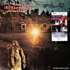 Autógrafos de Música : AL STEWART - UNIQUE ORIGINAL (WITH COA JSA ) AUTOGRAPH FROM THIS GREAT BRITISH SINGER-SONGWRITER. Lote 243137750