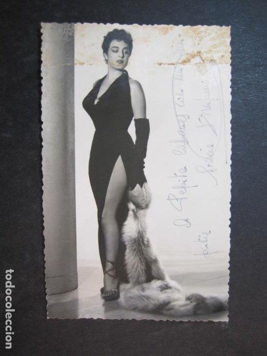 ?-AUTOGRAFO-FOTOGRAFIA ANTIGUA FIRMADA-(77.627) (Música - Autógrafos de Cantantes )