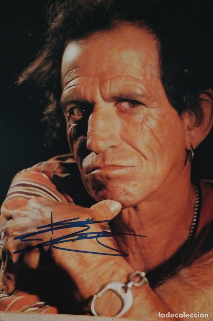 Autógrafos de Música : The Rolling Stones / Keith Richards Signed With COA - Foto 1 - 243938700