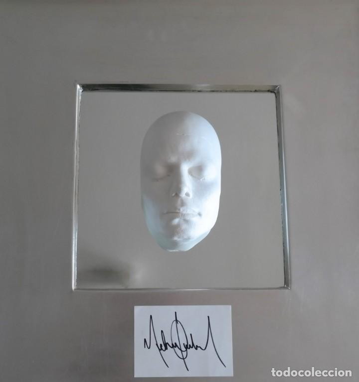 "MICHAEL JACKSON UNIQUE COLLECTOR´S ART -WORK ""WE ALL MUST BEGINN WITH THE MAN IN THE MIRROR"" 2018 (Música - Autógrafos de Cantantes )"