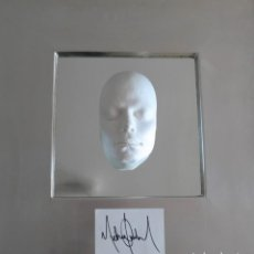 """Autógrafos de Música : MICHAEL JACKSON UNIQUE COLLECTOR´S ART -WORK """"WE ALL MUST BEGINN WITH THE MAN IN THE MIRROR"""" 2018. Lote 244004920"""