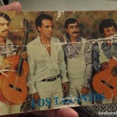 Autógrafos de Música : TARANTOS TARJETA AUTOGRAFO DORSO MVY SOBADA MUSICA. Lote 244560500