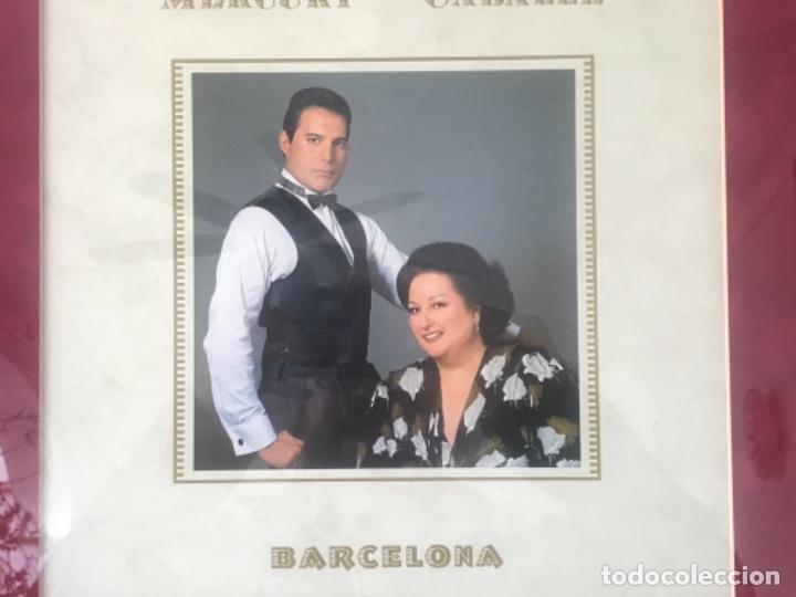 Autógrafos de Música : AUTOGRAFO DE PUÑO Y LETRA DE FREDDIE MERCURY Y MONTSERRAT CABALLÉ. BARCELONA 92. OLIMPIADAS. - Foto 2 - 245763715