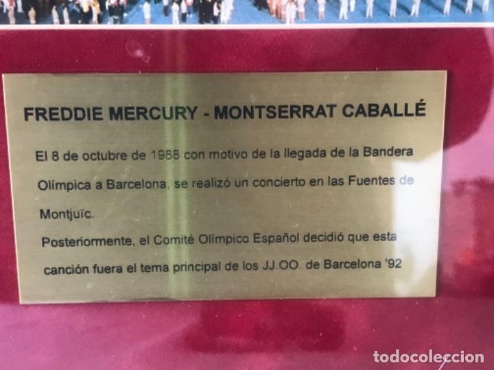 Autógrafos de Música : AUTOGRAFO DE PUÑO Y LETRA DE FREDDIE MERCURY Y MONTSERRAT CABALLÉ. BARCELONA 92. OLIMPIADAS. - Foto 4 - 245763715