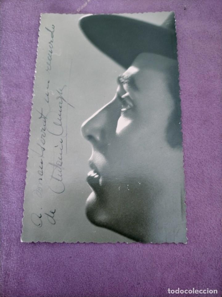 ANTONIO AMAYA BAILARIN Y CANTANTE DEDICATARIA Y AUTOGRAFO FOTOGRAFO RAHUL BARCELONA (Música - Autógrafos de Cantantes )