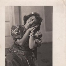 Autógrafos de Música : FOTOGRAFÍA DE ELVIRA VENDRELL - 1949 - AUTÓGRAFO - SOPRANO ZARZUELA TEATRO. Lote 252160835