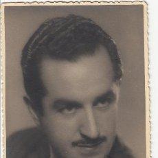 Autógrafos de Música : LUCIANO UTRILLA - FOTOGRAFÍA AMER BARCELONA 1943 - AUTÓGRAFO - TENOR ZARZUELA TEATRO. Lote 252167685
