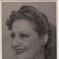 Autógrafos de Música : VICENTITA RUIZ - AUTÓGRAFO - FOTOGRAFÍA GONSANHI BARCELONA - TIPLE CÓMICA ZARZUELA TEATRO. Lote 252183985