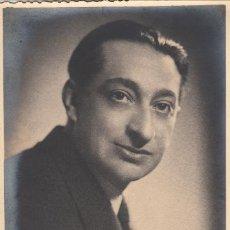 Autógrafos de Música : MARCOS REDONDO - FOTOGRAFÍA - AUTÓGRAFO 1948 - BARÍTONO ZARZUELA ÓPERA TEATRO. Lote 252311145