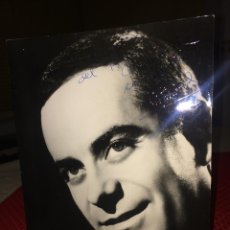 Autografi di Musica : JOSÉ GUARDIOLA - FOTOGRAFÍA ORIGINAL Y AUTÓGRAFO -AÑOS 60 - AL TEATRO PRINCIPAL DE MONOVAR (ALICANTE. Lote 252579370