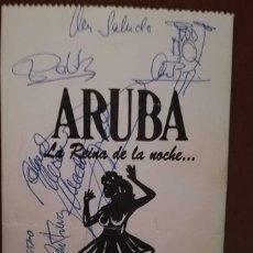 """Autógrafos de Música : MEDINA AZAHARA ENTRADA CONCIERTO EN ALICANTE DURANTE LA GIRA 92 """"SIN TIEMPO"""" FIRMADA. Lote 261294390"""