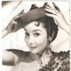 Autógrafos de Música : AUTÓGRAFO DE MARIFÉ DE TRIANA. CANTANTE. BURGILLOS (SEVILLA, 1936). Lote 263532630