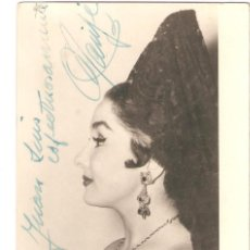 Autógrafos de Música : AUTÓGRAFO DE MARIFÉ DE TRIANA. CANTANTE. BURGILLOS (SEVILLA, 1936). Lote 263572920