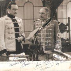 Autógrafos de Música : AUTÓGRAFO BARÍTONO LUIS SAGI VELA (MADRID,1914) HIJO DE EMILIO SAGI BARBA Y LA SOPRANO LUISA VELA. Lote 263709260