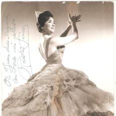 Autógrafos de Música: AUTÓGRAFO DE LA TONADILLERA ROSITA FERRER (BARCELONA,1935). Lote 263713630