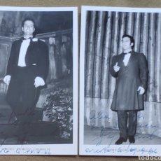 Autógrafos de Música : GIORGIO GRIMALDI TENOR FOTOGRAFÍA FIRMADA Y DEDICADA OPERA 1965. Lote 265781774