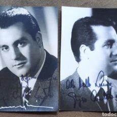 Autógrafos de Música : GIORGIO CASELATTO LAMBERDI TENOR FOTOGRAFÍA FIRMADA Y DEDICADA OPERA 1966. Lote 265782034