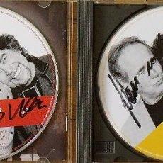 Autógrafos de Música: SERRAT SABINA. AUTÓGRAFOS, AUTOGRAPHS, FIRMAS. CD. DOS PÁJAROS DE UN TIRO. SONY. 2007. 13X14 CM.. Lote 268437549