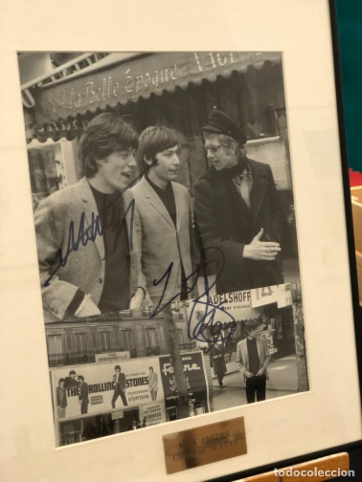 Autógrafos de Música : Foto firmada Mick Jagger y Charlie Watts - Foto 2 - 268600694
