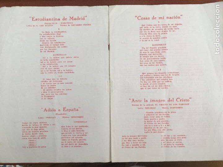 Autógrafos de Música : antonio molina cancionero original antiguo con autografo firma original - Foto 2 - 289835773