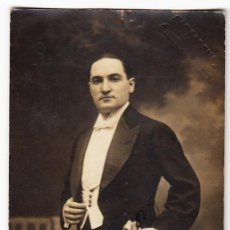 Autografi di Musica : RETRATO ENRIQUE INCHAUSTI (ENRICO GÉNOVA) - CARTAGENA (MADRID) - AUTÓGRAFO 1916 - TENOR - ÓPERA. Lote 291939658