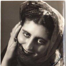 Autógrafos de Música : RETRATO MARIA PEDRINI - AUTÓGRAFO 1949 - VILLORESI (ROMA) - SOPRANO - ÓPERA TEATRO. Lote 293918123