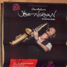 Autógrafos de Música : STEVE NORMAN ( SPANDAU BALLET) - POSTER FIRMADO. Lote 294167513