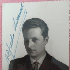 Autógrafos de Música : FOTO ALFREDO KRAUS - FIRMADA. Lote 295501948
