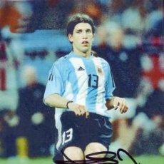Coleccionismo deportivo: FOTO FIRMADA - AUTOGRAFO FUTBOL - PLACENTE - ARGENTINA. Lote 20680900