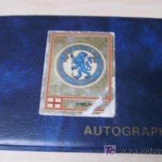 Coleccionismo deportivo: ALBUM DE AUTOGRAFOS DEL EQUIPO LONDINENSE CHELSE -AUTOGRAPHS. Lote 18470548