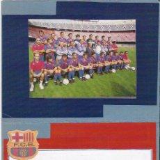 Coleccionismo deportivo: FIRMA AUTOGRAFO DEL PORTERO DEL F.C. BARCELONA ZUBIZARRETA, ZUBI. BARÇA. FUTBOL. Lote 26400100